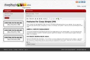 This is the Content Management system