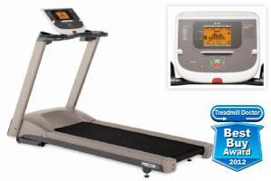 Precor 9.23 low-impact treadmill