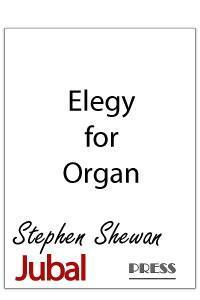 Elegy for organ. Meditative music that has been performed at numerous memorial services.