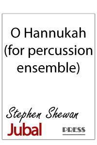 O Hannukah is arranged for mallet ensemble. It requires 8 players and employs Bells, xylophone, 2 marimba players (on one instrument), vibes, chimes and 2 crystal glasses.