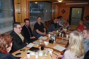 group shot of members nickel city networking