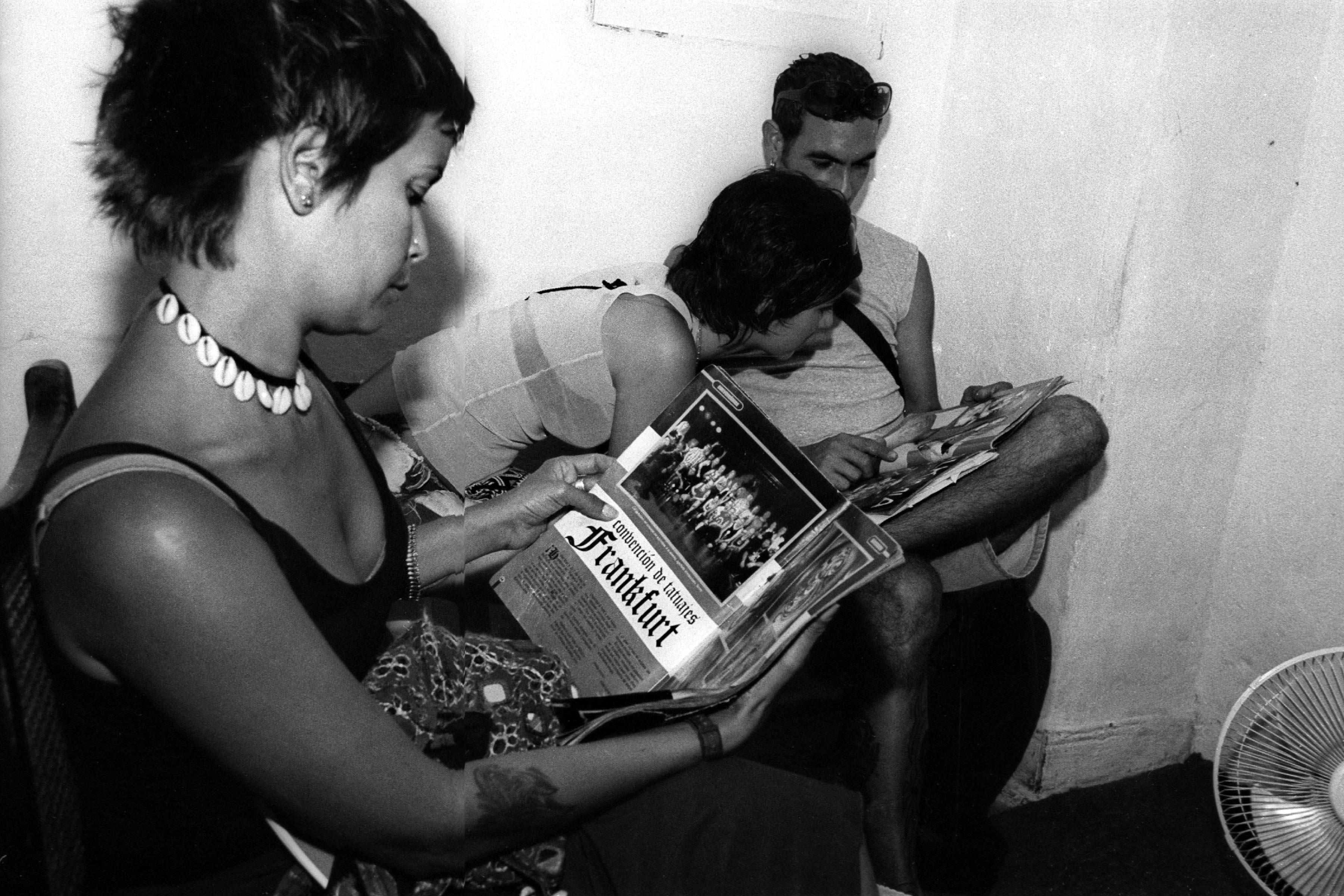 CUBA: Tattoo Parlor