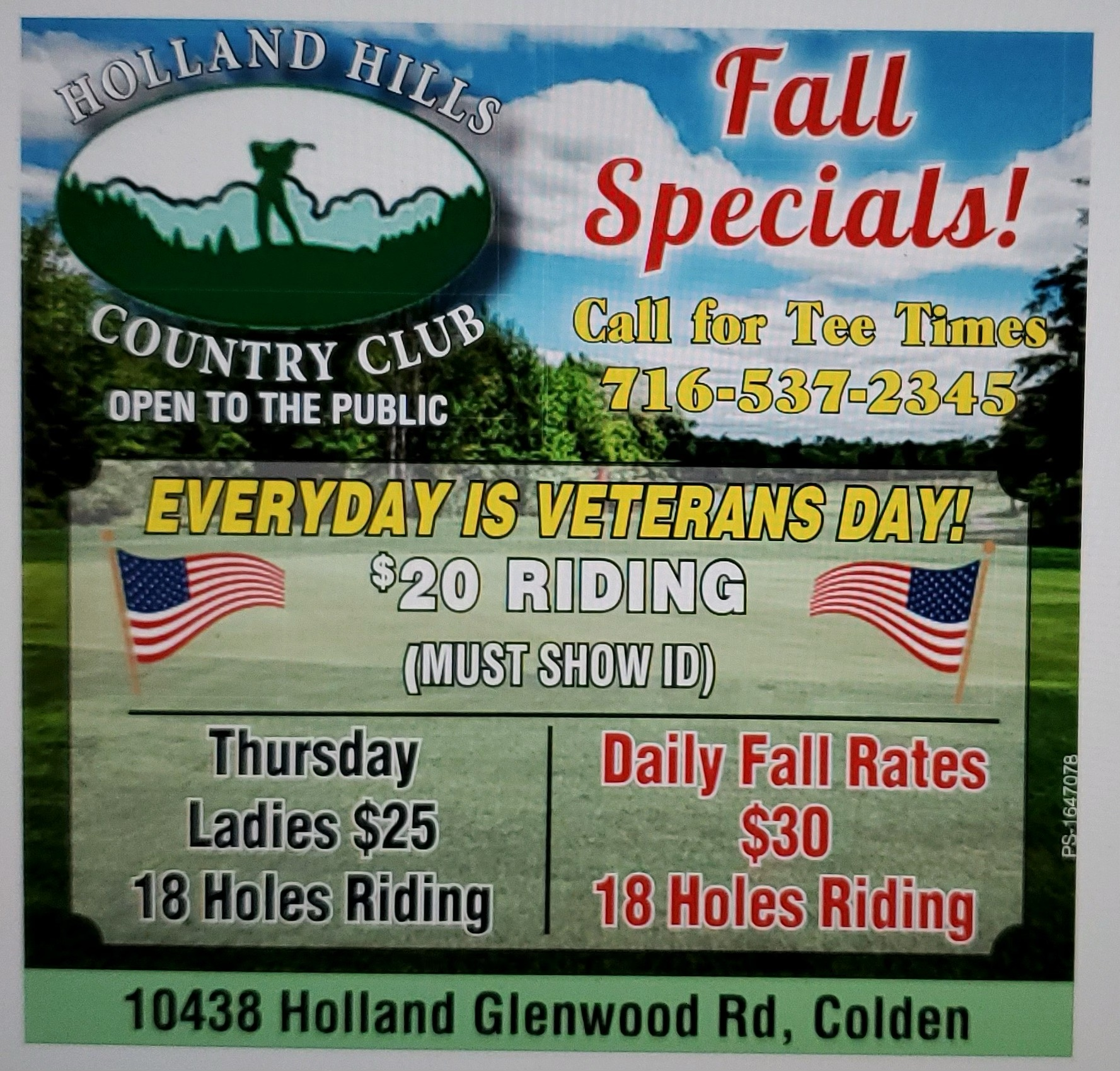 holland hills course