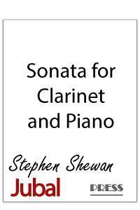 Sonata for Clarinet and Piano. First movement is a jazz dance, the second a ballad, and the third a march reminiscent of Charles ives.
