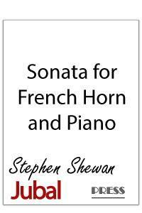Sonata for Horn and Piano in 3 movements. During the third movement, the hornist plays with the 3rd slide on the Bb horn pulled out for special percussion-like effects. Contains Latin dance rhythms and a feverish ending.