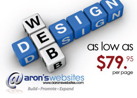 Affordable WebSite Design starting at $79 per page.