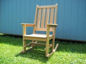 Highback Rocking Chair