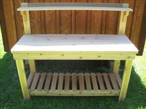 60 inch Potting Bench