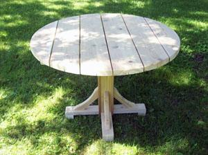Pedestal Oval Table